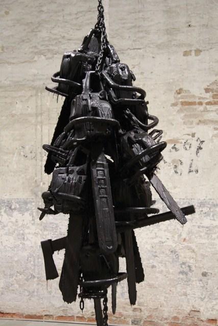 Installation von Monica Bonvincini Biennale 2015